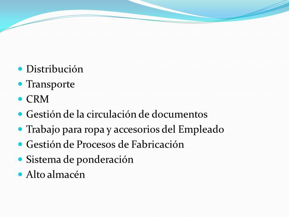 Distribución Transporte. CRM. Gestión de la circulación de documentos. Trabajo para ropa y accesorios del Empleado.