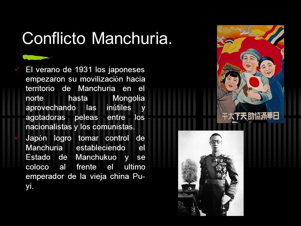 Conflicto Manchuria.