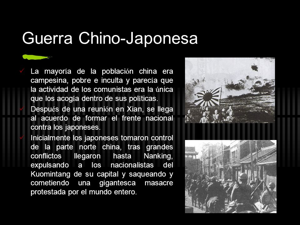 Guerra Chino-Japonesa