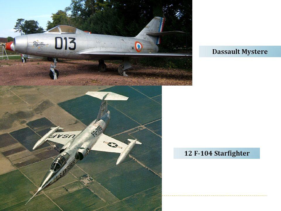 Dassault Mystere 12 F-104 Starfighter