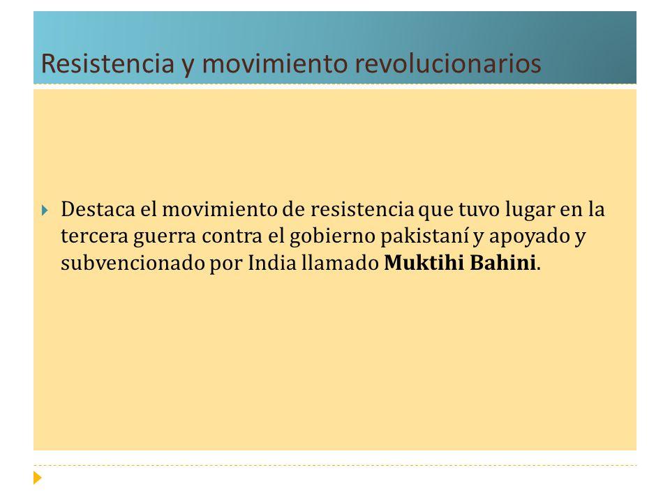 Resistencia y movimiento revolucionarios