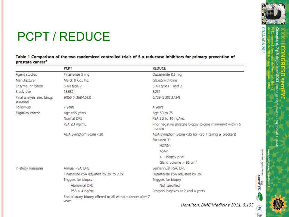 PCPT / REDUCE Hamilton. BMC Medicine 2011, 9:105