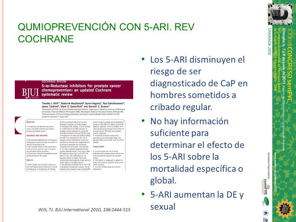 QUMIOPREVENCIÓN CON 5-ARI. REV COCHRANE
