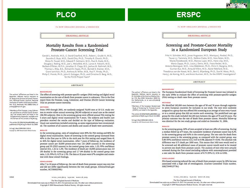 PLCO ERSPC