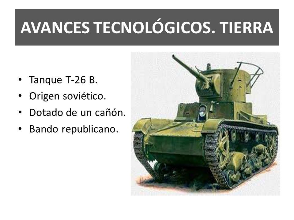 AVANCES TECNOLÓGICOS. TIERRA