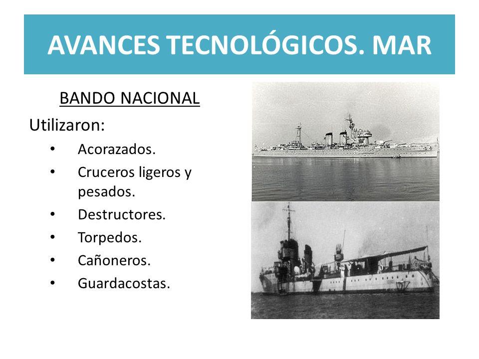 AVANCES TECNOLÓGICOS. MAR