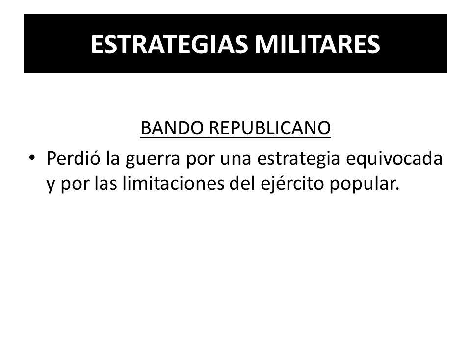 ESTRATEGIAS MILITARES