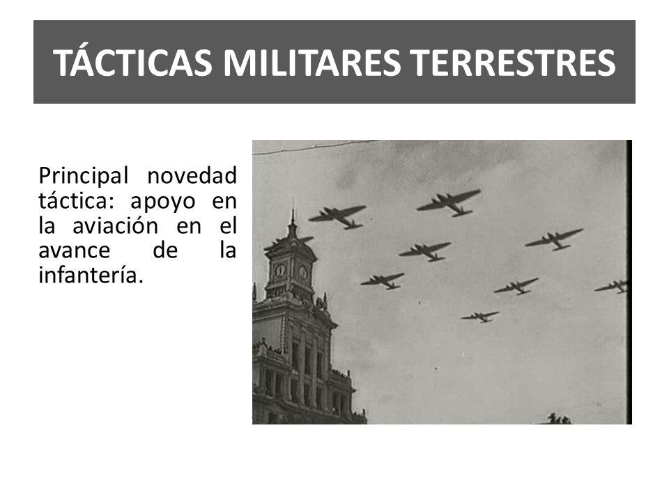 TÁCTICAS MILITARES TERRESTRES