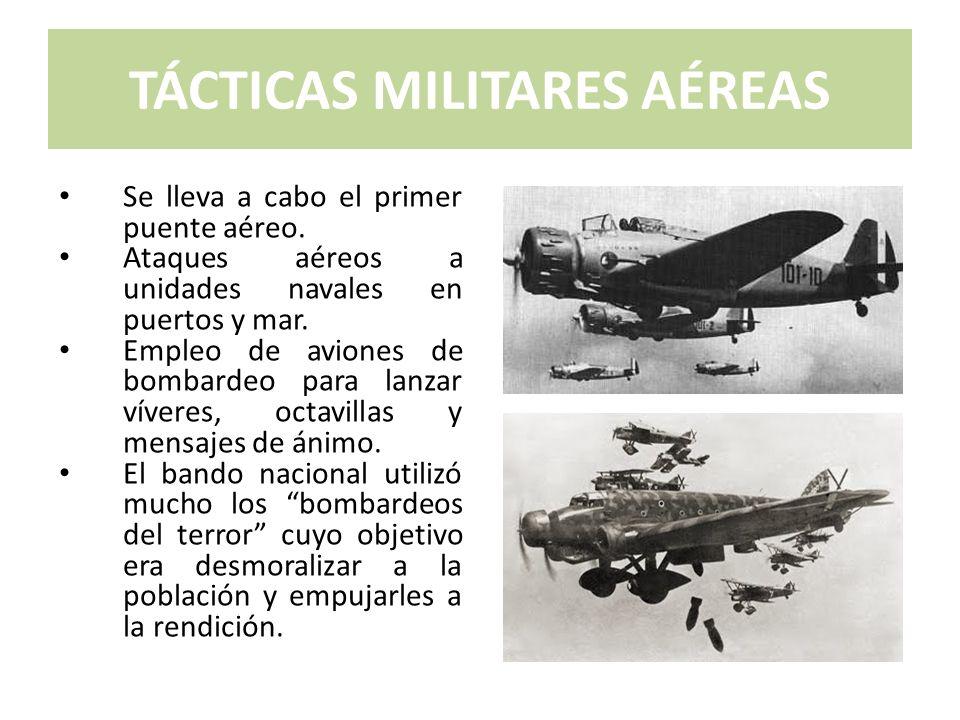 TÁCTICAS MILITARES AÉREAS
