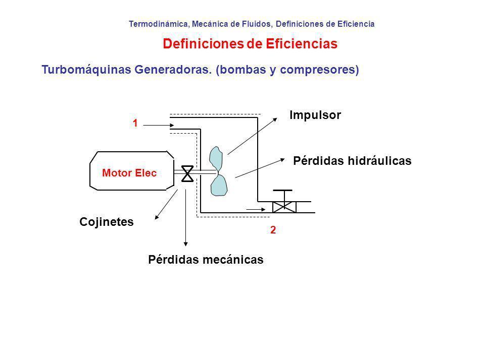 Definiciones de Eficiencias