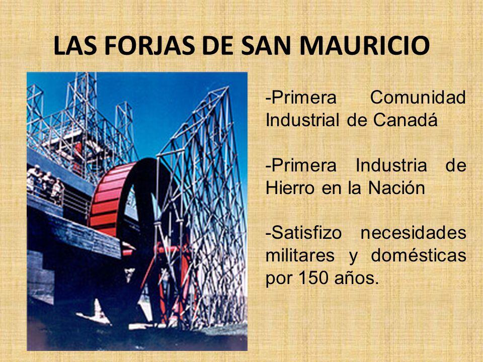 LAS FORJAS DE SAN MAURICIO