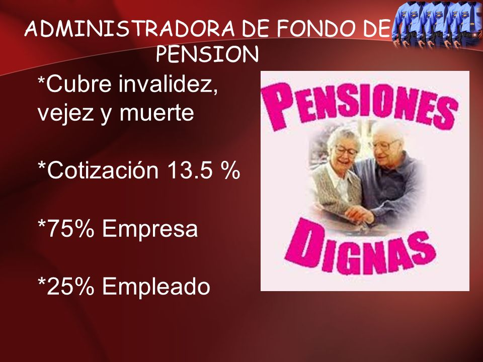 ADMINISTRADORA DE FONDO DE PENSION