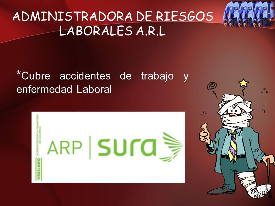 ADMINISTRADORA DE RIESGOS LABORALES A.R.L