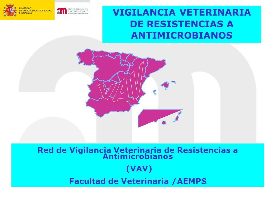 VAV VIGILANCIA VETERINARIA DE RESISTENCIAS A ANTIMICROBIANOS