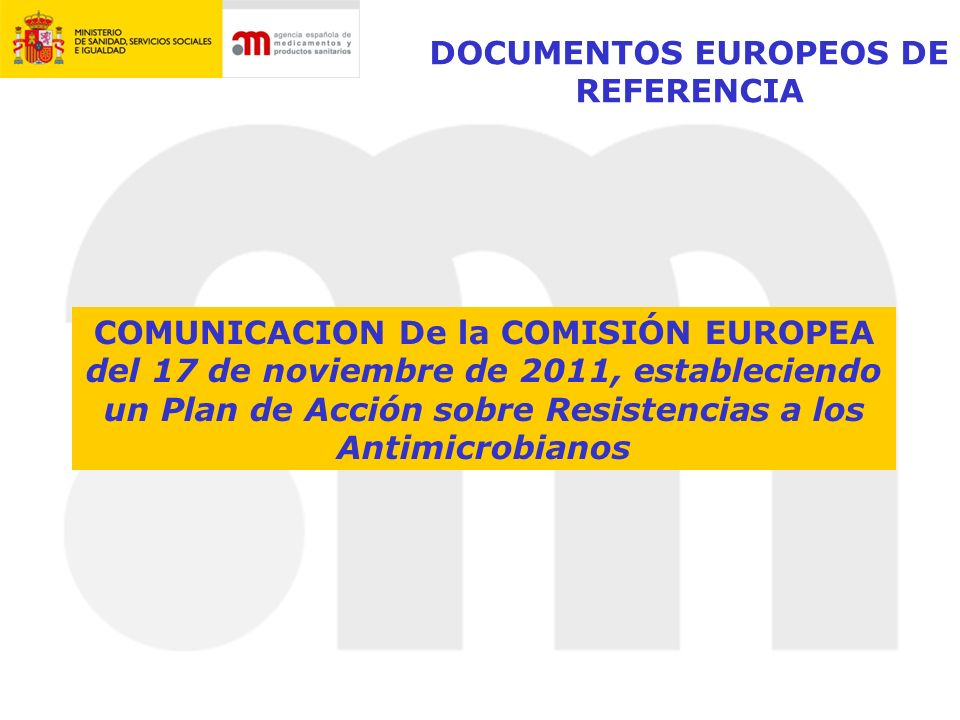 DOCUMENTOS EUROPEOS DE REFERENCIA