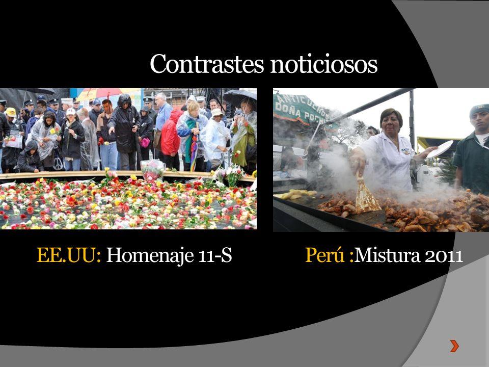 Contrastes noticiosos
