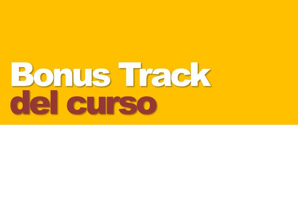 Bonus Track del curso