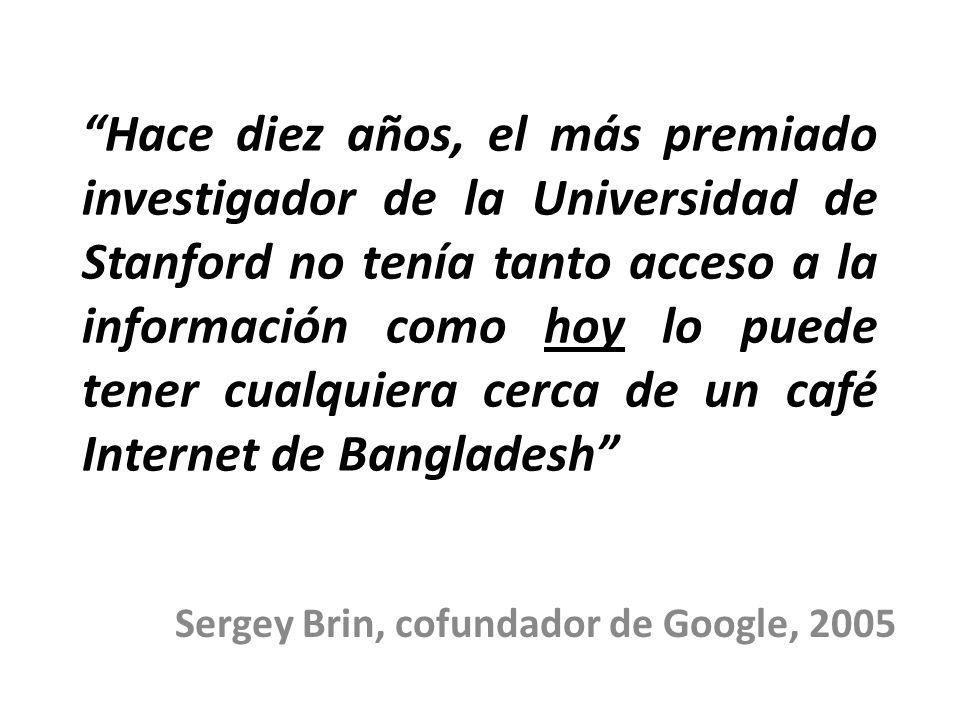 Sergey Brin, cofundador de Google, 2005