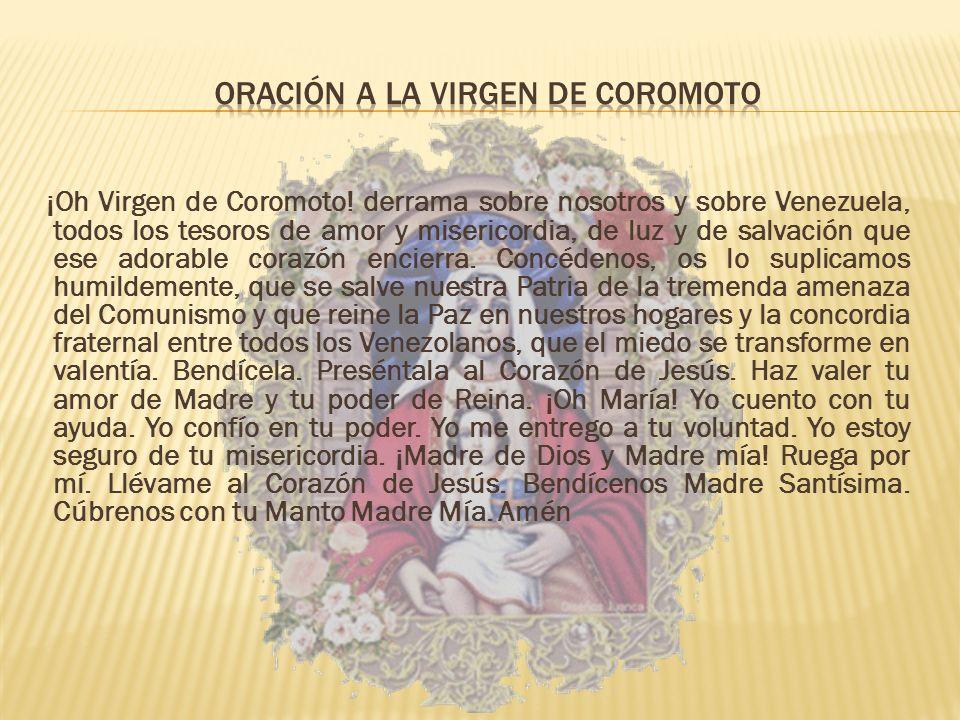 Oración a la Virgen de Coromoto