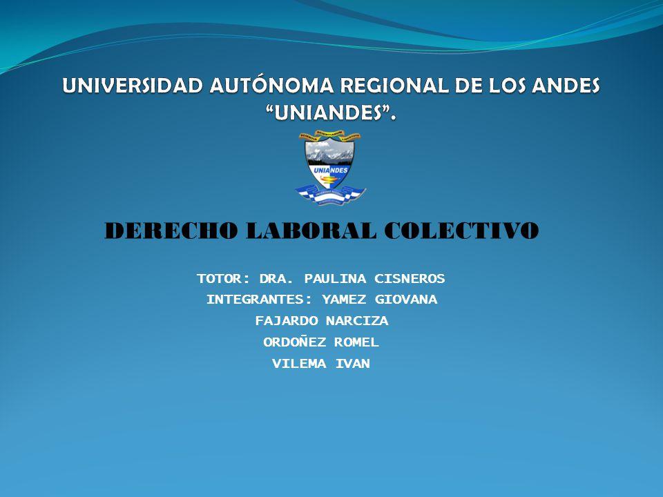 UNIVERSIDAD AUTÓNOMA REGIONAL DE LOS ANDES UNIANDES .