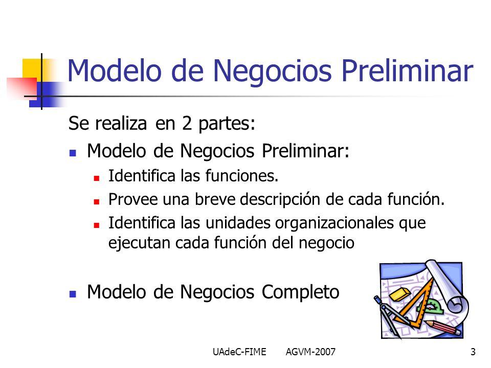 Modelo de Negocios Preliminar