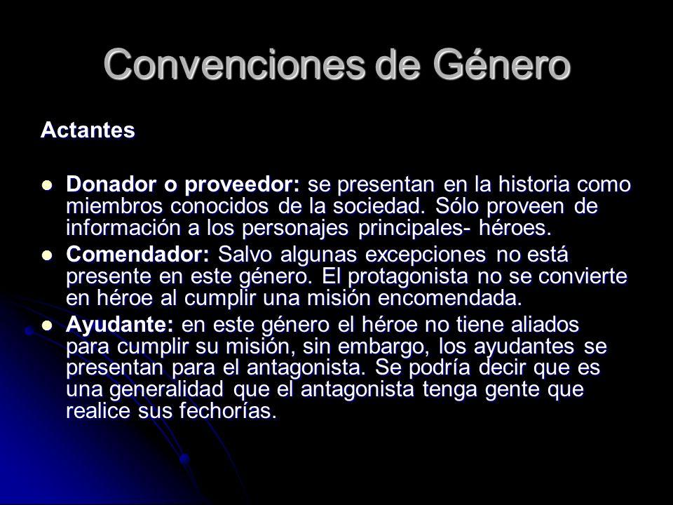 Convenciones de Género