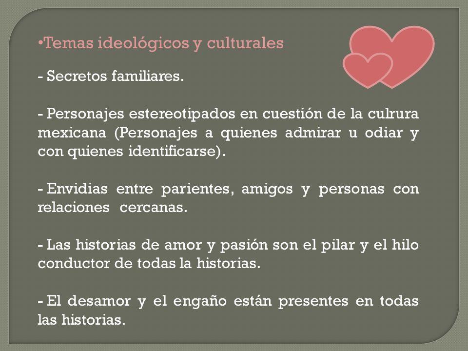 Temas ideológicos y culturales