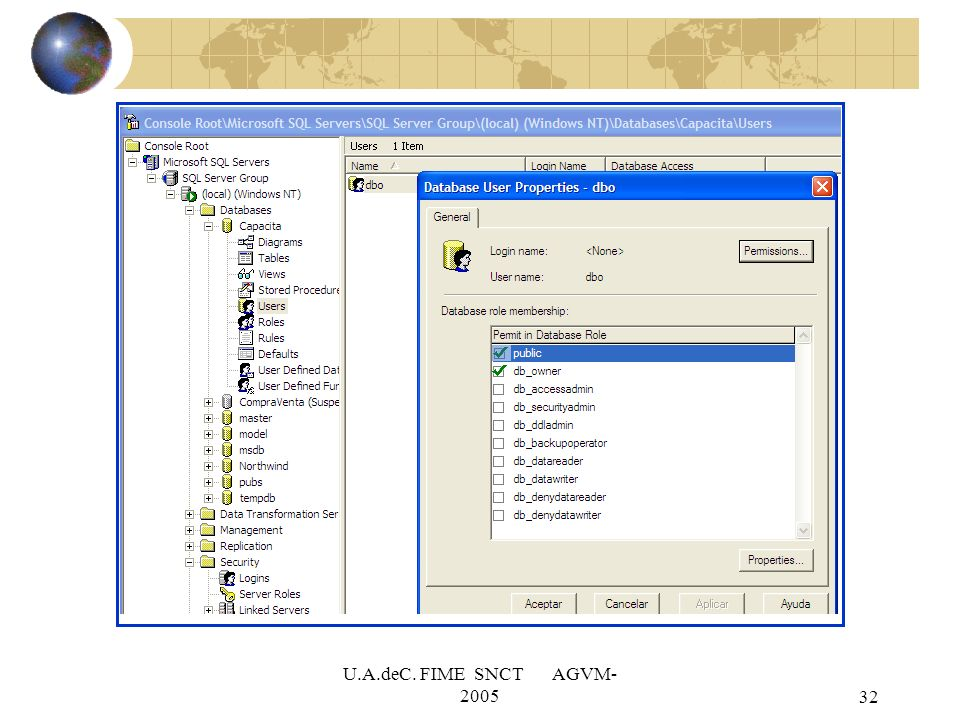 U.A.deC. FIME SNCT AGVM-2005