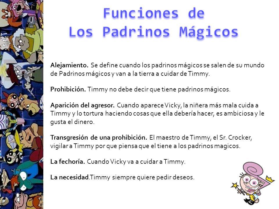 Funciones de Los Padrinos Mágicos