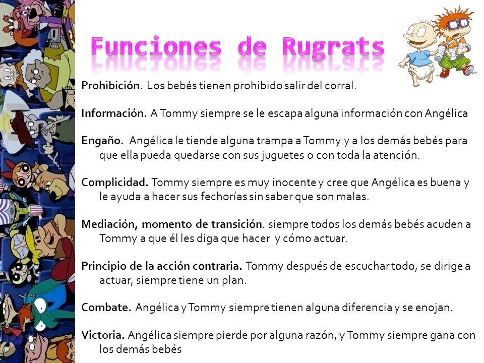 Funciones de Rugrats
