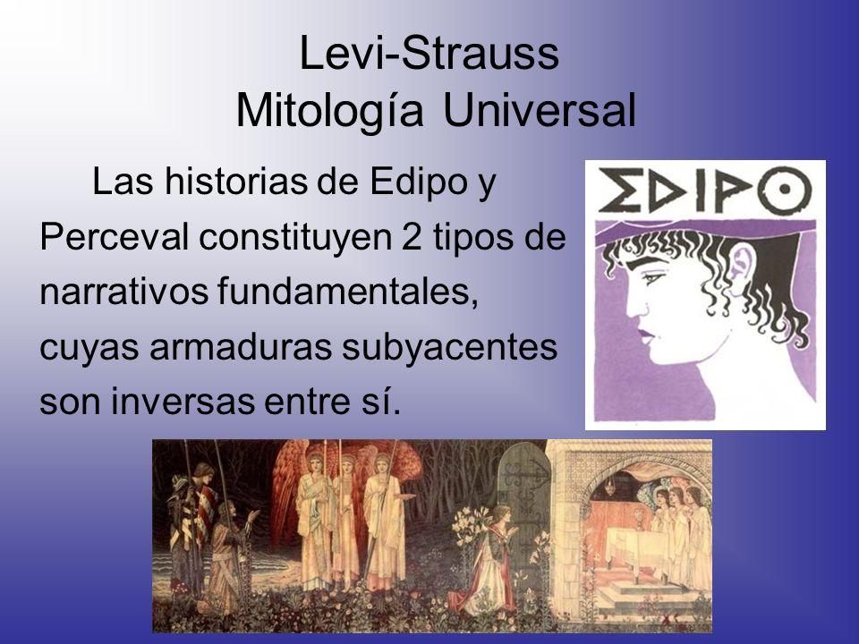 Levi-Strauss Mitología Universal