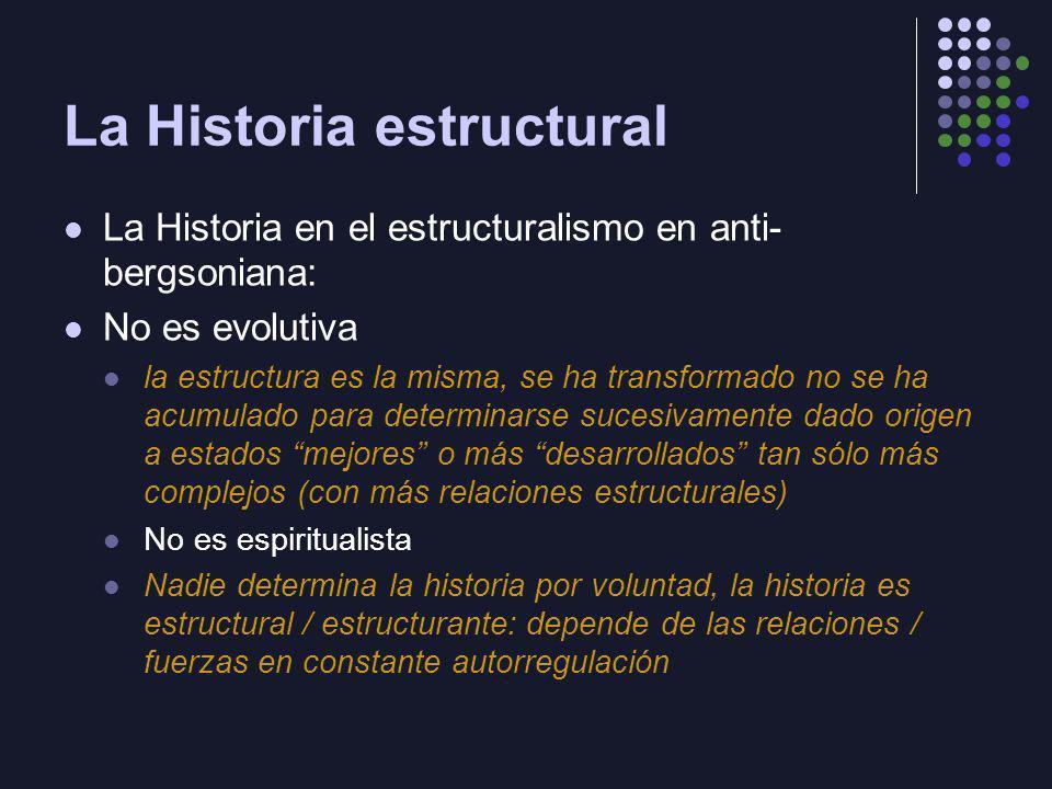 La Historia estructural