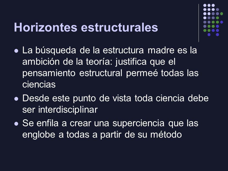 Horizontes estructurales