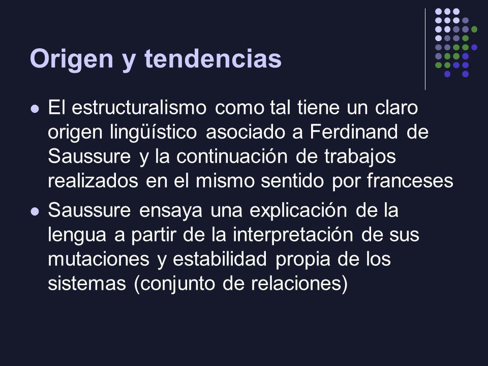 Origen y tendencias