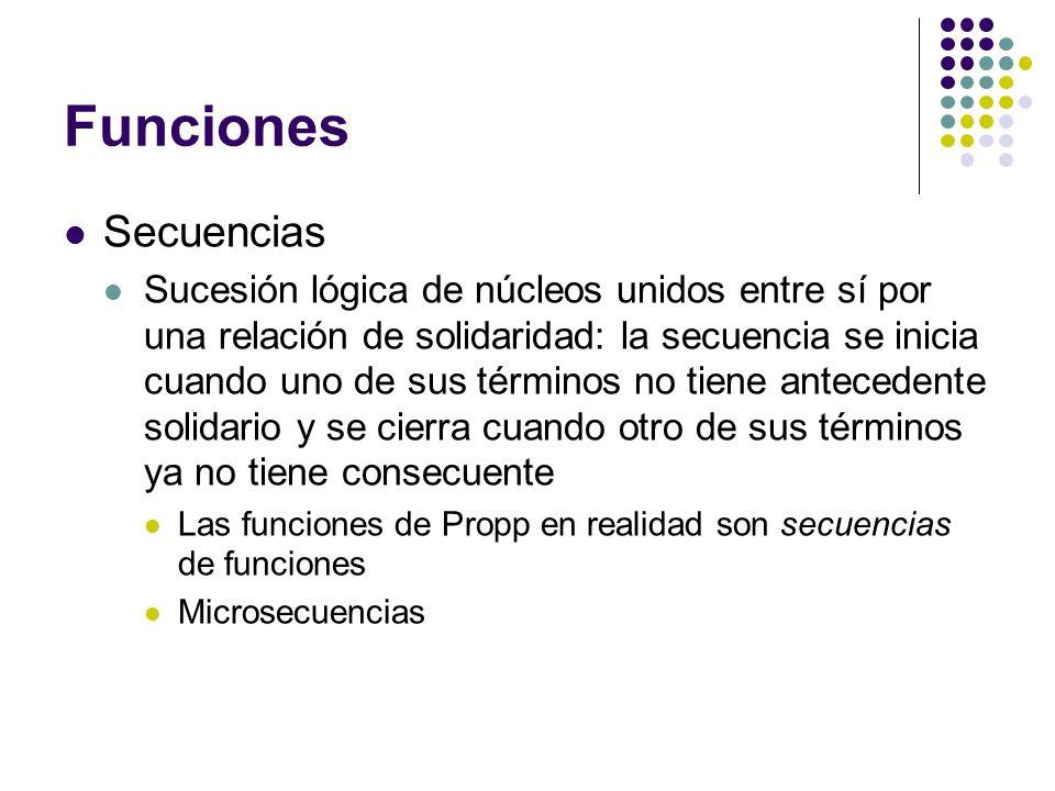 Funciones Secuencias.