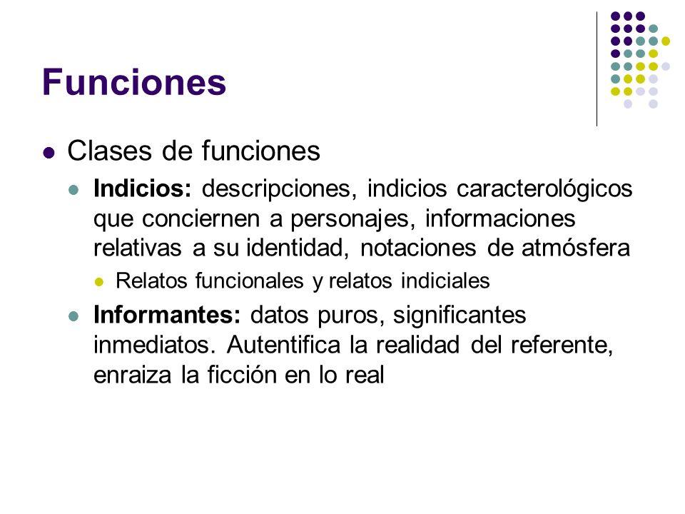 Funciones Clases de funciones