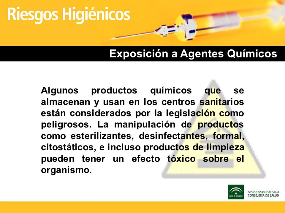 Exposición a Agentes Químicos