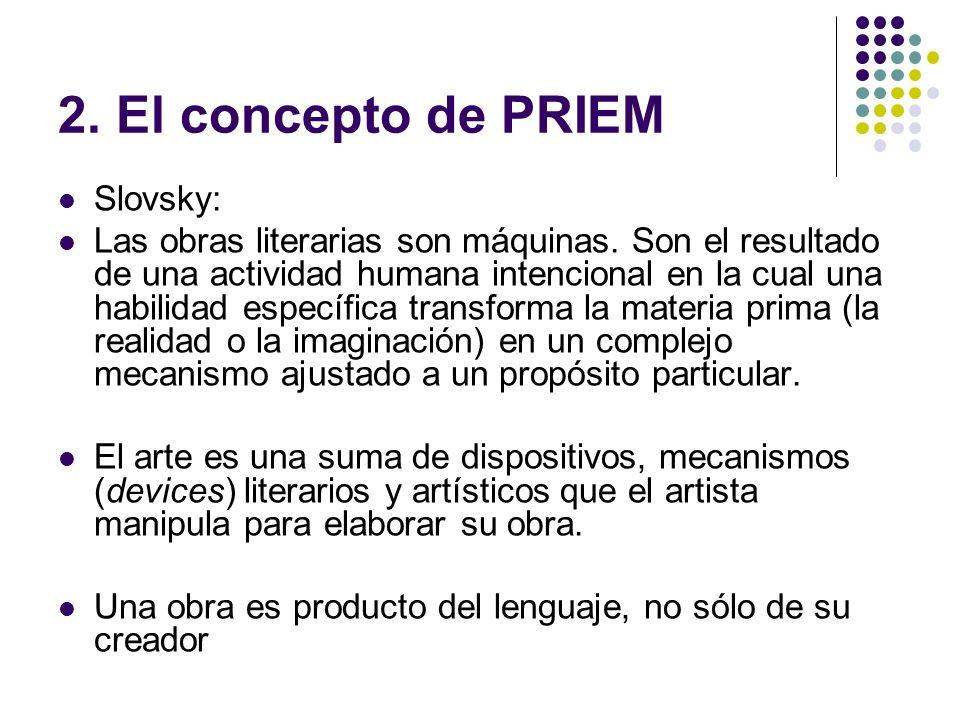 2. El concepto de PRIEM Slovsky: