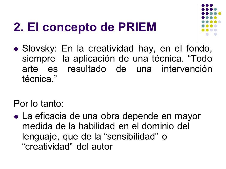 2. El concepto de PRIEM