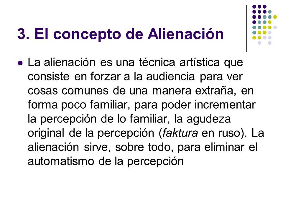 3. El concepto de Alienación
