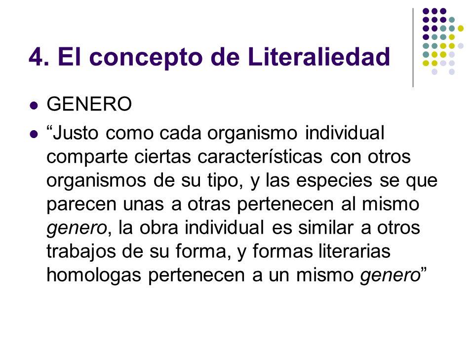4. El concepto de Literaliedad