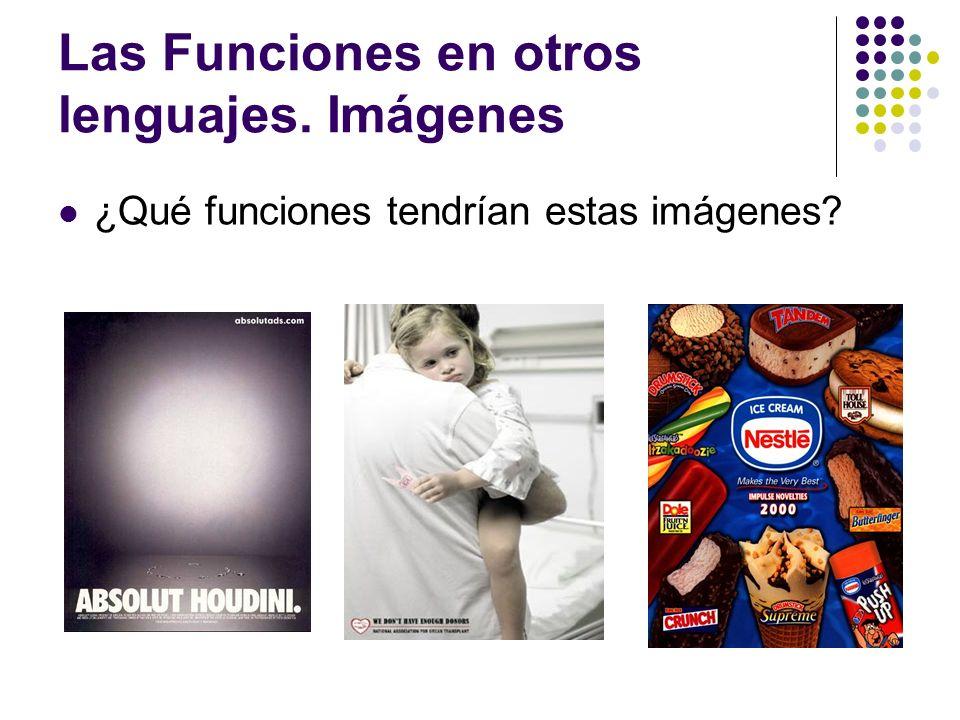 Las Funciones en otros lenguajes. Imágenes