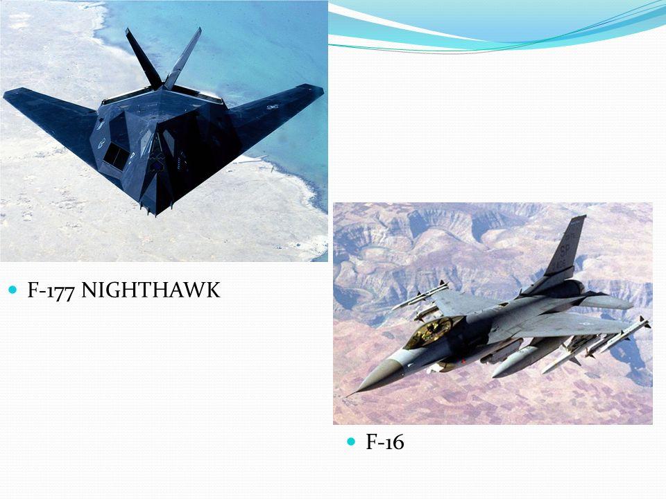 F-177 NIGHTHAWK F-16