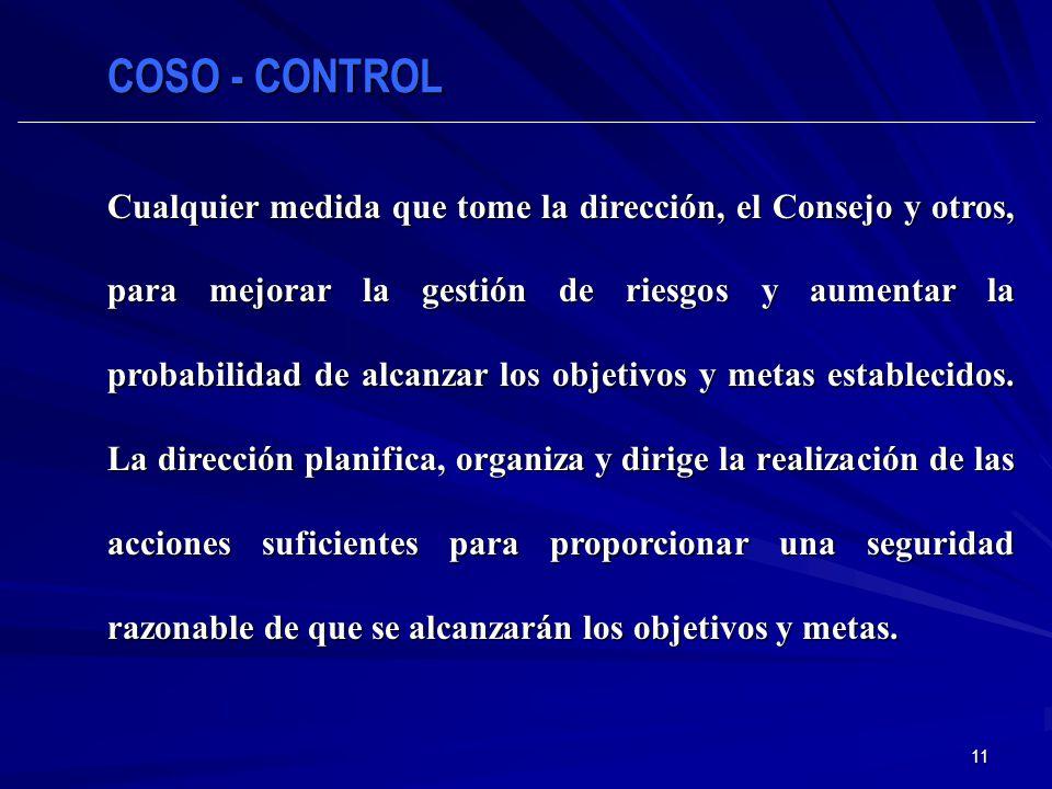 COSO - CONTROL