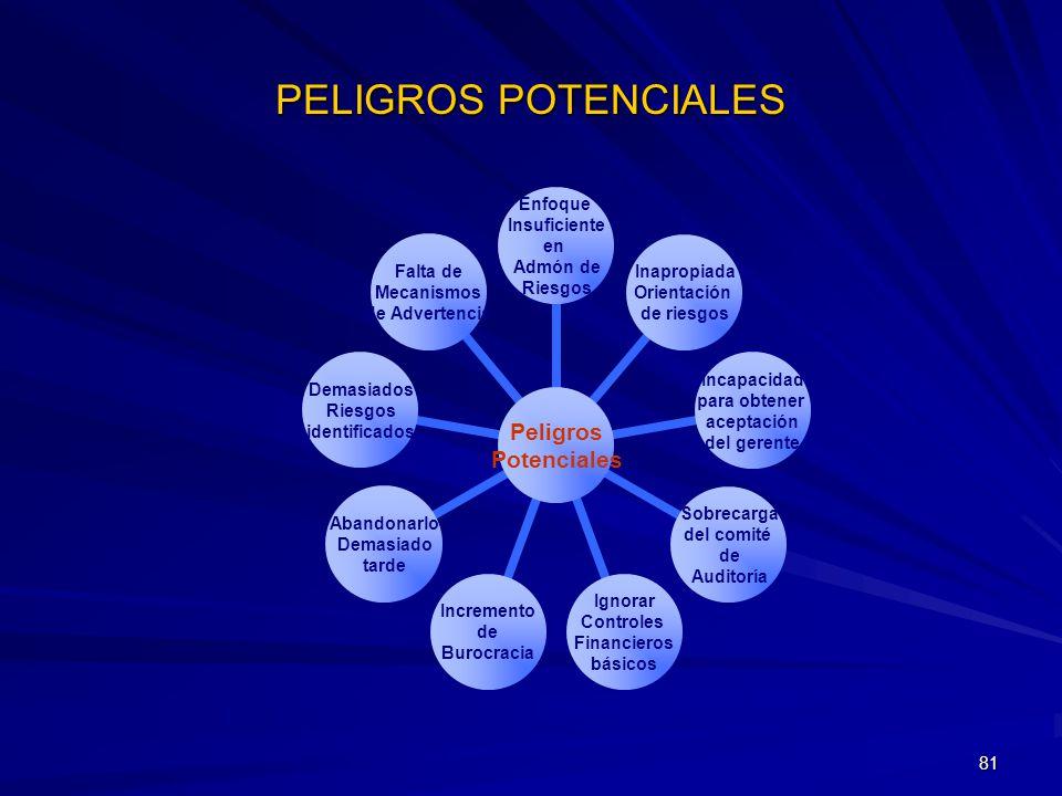 PELIGROS POTENCIALES
