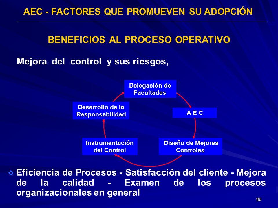 AEC - FACTORES QUE PROMUEVEN SU ADOPCIÓN