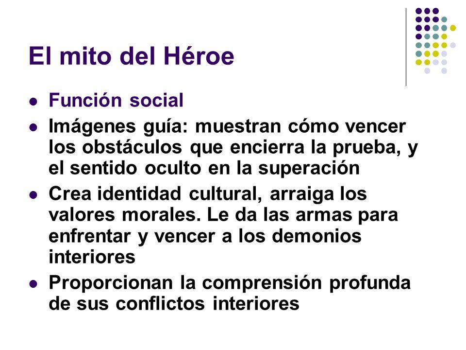 El mito del Héroe Función social