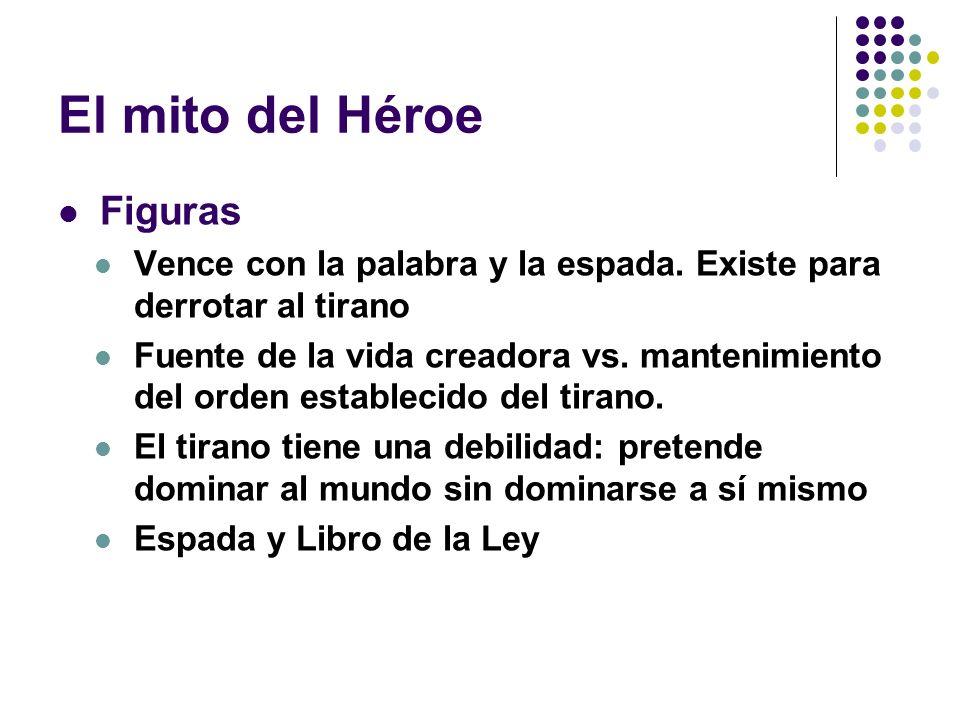 El mito del Héroe Figuras