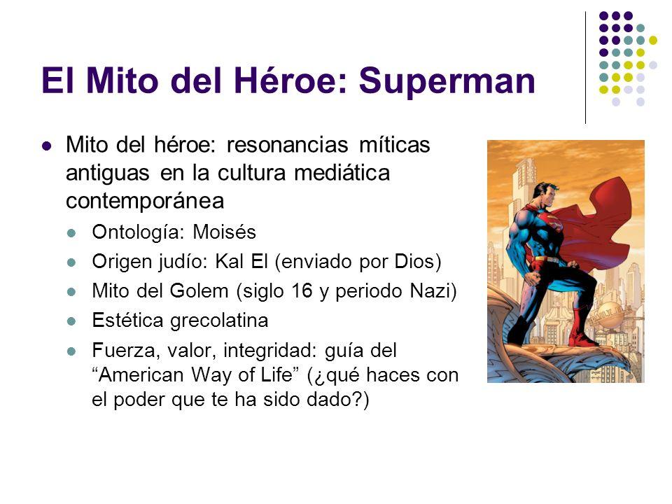 El Mito del Héroe: Superman