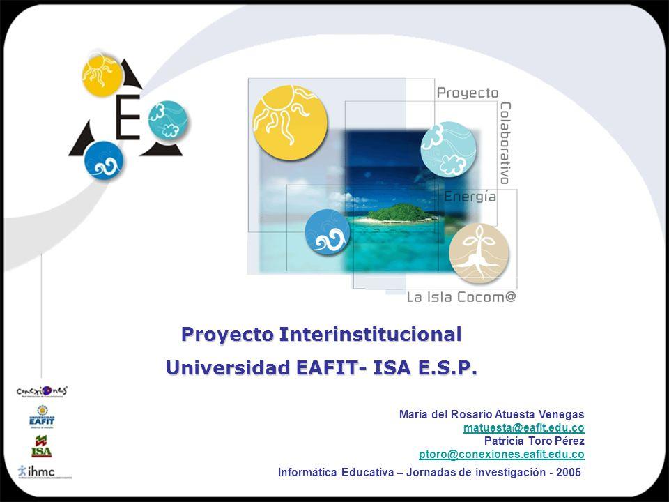 Proyecto Interinstitucional Universidad EAFIT- ISA E.S.P.